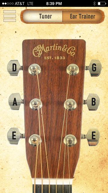 Martin马丁吉他调音App